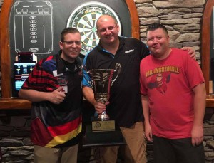 2019 NYC Cup of Darts Champions Bumgarner Burns Widmayer