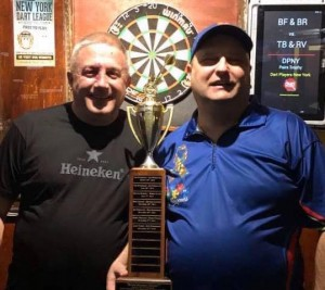 DPNY 2019 Pairs Trophy Winners Rudel and Freeman